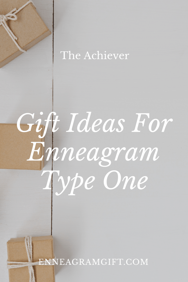 enneagram type one gift ideas