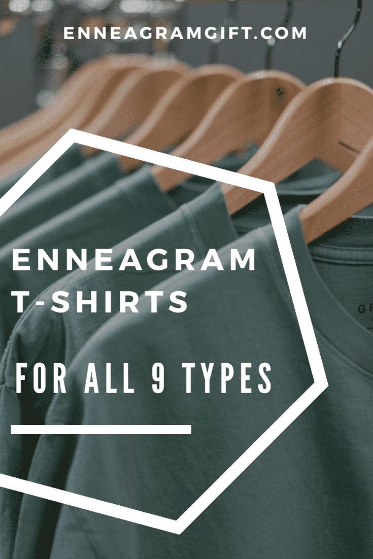enneagram t-shirts for every type