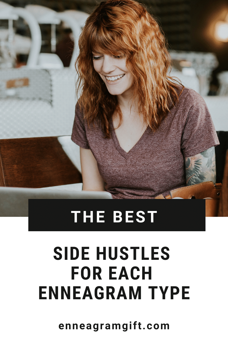 best sides hustle ideas for enneagram type