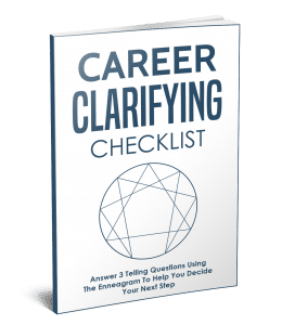 enneagram career clarifying checklist
