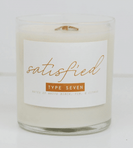 enneagram type 7 candles