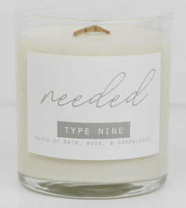 enneagram candles for type 9