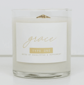 enneagram type 1 candle