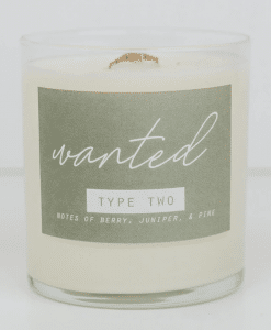 enneagram candles for type 2