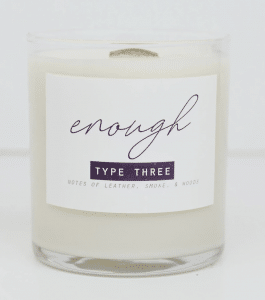 enneagram type 3 candles